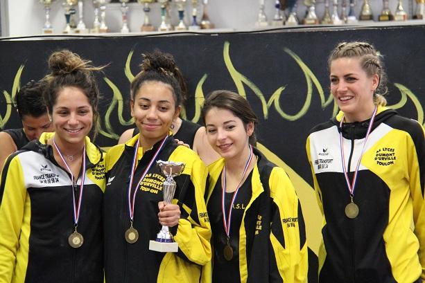 Equipe 2 régionale filles
